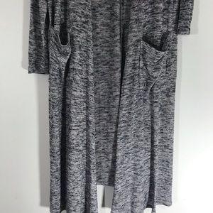 LuLaRoe Sweaters - LuLaRoe Sarah long duster open cardigan medium